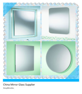 2mm-6mm Bathroom Mirror with Custom Size and Shape (BMG-1601) pictures & photos