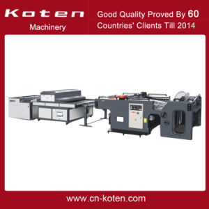 Auomatic Cylinder Screen Printing Machine pictures & photos