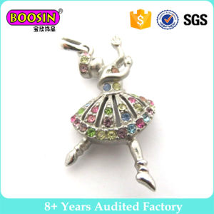 Cute Crystal Ballerina Ballet Dancer Pendant Charms Wholesale pictures & photos