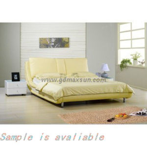 Wholesale Modern Leather Bed (MS-518)