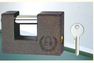 Rectagular Iron Padlock pictures & photos