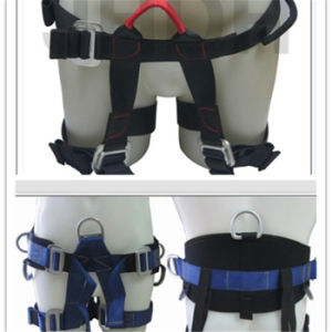 Nylon Safety Harness Rock Climbing Belt with CE En 12277 pictures & photos