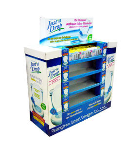 Wholesale Printed Cardboard Promotional Pallet Counter Display Box 53 pictures & photos