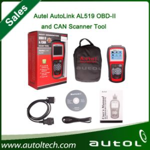 100% Original Autel Autolink Al519 OBD-II and Can Scanner Tool pictures & photos