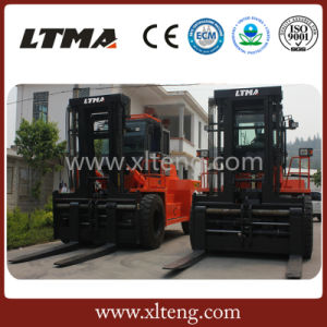 30t Hydraulic Diesel Forklift Truck with LED Forklift Lights pictures & photos