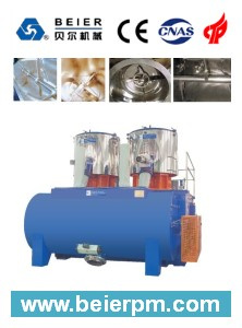SRL-W 800X2/4000 Plastic High Speed Horizontal Heating/Cooling Mixer/Compunding Machine pictures & photos