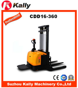 1.6ton Electric Straddle Stacker with Wide Leg (CDD16-360)