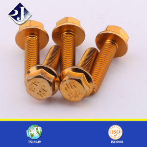 Grade8.8 DIN6921 Hexagonal Flange Bolt pictures & photos