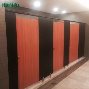 Jialifu Modern Nylon Hardware HPL Toilet Partition pictures & photos