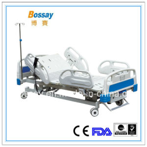 China FDA Approval 3 Functions Electric Hospital Bed pictures & photos