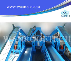 Industrial Double Shaft Tire Shredder Machine pictures & photos