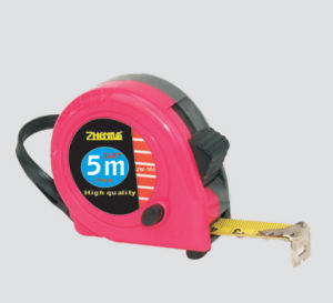 5m Rubber Covered Magnetic Steel Tape Measure pictures & photos