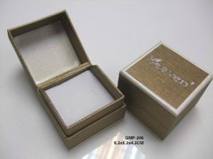 Custom Printed Small Black Cardboard Paper Beautify Cosmetic Box with Hot Silver Foil pictures & photos