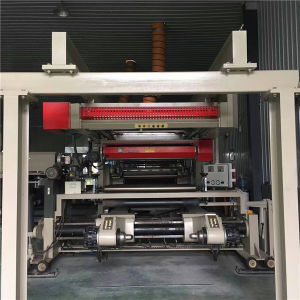 Second Hand Multilayer Film and Adhesive Tape Roll Automatic Heating Laminating Machine pictures & photos