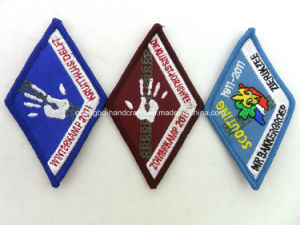 Merrow Border Embroidered Patches for Association (KJH-54) pictures & photos