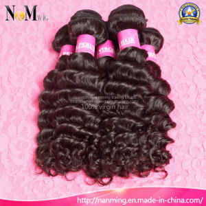 5A Spiral Curly 100% Human Hair Weave Virgin Peruvian Curly Hair pictures & photos