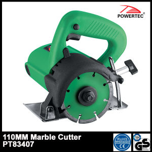 Powertec 1200W 110mm Cm4sb Electric Marble Cutter (PT83407) pictures & photos