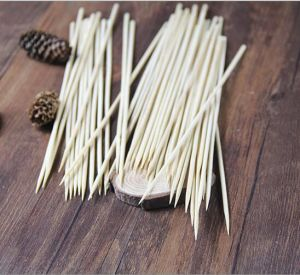 Hot-Sell Eco Barbecue Tool Bamboo Skewer/Stick/Pick (BC-BS1034) pictures & photos
