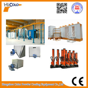 2016 New Automatic Electrostatic Powder Coating Line pictures & photos