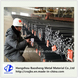 Deformed Steel Rebar High Tensile Steel Bar Concrete Bar pictures & photos