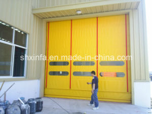 Automatic Fast Rolling Door with Observation Window