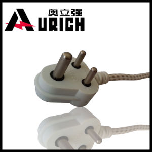China Manufacturer South Africa India 3 Pin Power Cord with Plug pictures & photos