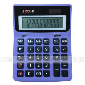 12 Digits Dual Power Cost-Sell-Margin Calculator for Office/Bank (LC212CSM)