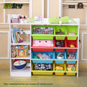 Multiple Functions Toy Shelf for Kids Furniture (WS16-0242)
