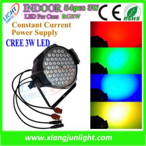 Non-Waterproof Indoor 54PCS 3W LED PAR Can Light LED Light pictures & photos