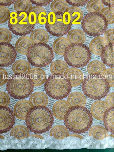 Latest High Quality Voile Lace for Wedding (82060) pictures & photos
