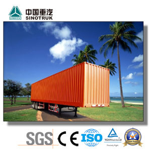 Top Quality Container Trailer for Tractor Head 10-100ton pictures & photos