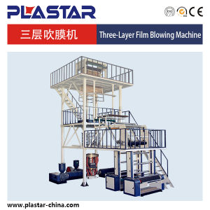 Ax-1200 Three Layers Plastic PE Film Blowing Machine pictures & photos