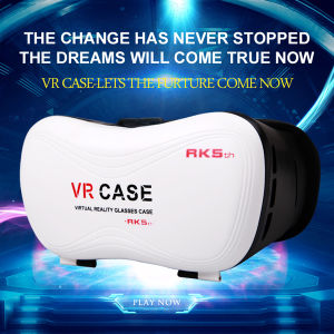 Vr Box Plastic Virtual Reality 3D Glasses Google Cardboard pictures & photos
