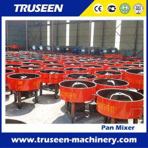 Hand Feed Diesel Concrete Mixer Construction Equipment with Hydraulic Hopper pictures & photos