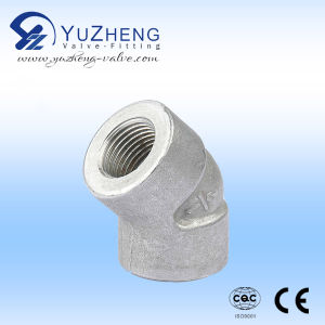 Stainless Steel 45 Degree High Pressure Elbow pictures & photos