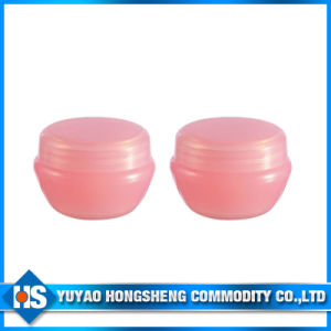 Plastic Small Cosmetic Lotion Jar with PP pictures & photos