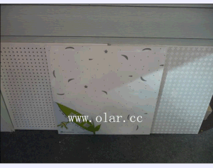 Acoustic Board/ Calcium Silicate Ceiling Sound Absorption Board pictures & photos