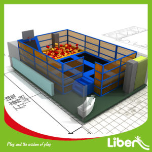 as Your Size Designed Indoor Trampoline Bed for Park pictures & photos