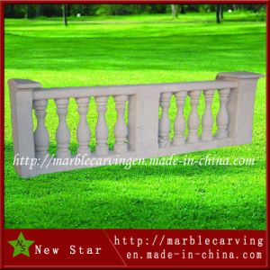 High Quality Marble Guardrail Natural Stone Carving Baluster pictures & photos