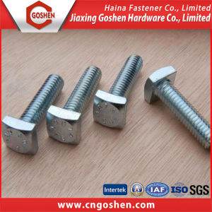 OEM Steel Hammer Head Screw/T Bolt pictures & photos