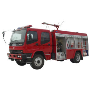 Professional Supply Isuzu Fire Truck Fire Engine Fire Fight Truck of Water Foam Type pictures & photos