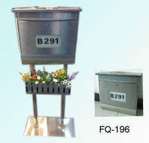 Stainless Steel Modern Design Solar Mailbox pictures & photos