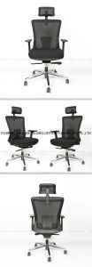 Mesh Chair Computer Chair with Headrest in Office Conference Room Chair Factory pictures & photos