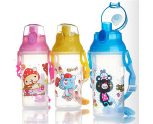 450ml New Design Kids Plastic Water Bottle, Professional manufacturer of plastic water bottle pictures & photos