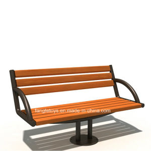 Park Bench, Picnic Table, Cast Iron Feet Wooden Bench, Park Furniture FT-Pb019 pictures & photos