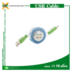 Wholesale Mobile Phone Cable Retractable USB C Cable pictures & photos
