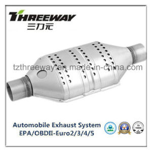 Car Exhaust System Three-Way Catalytic Converter #Twcat013 pictures & photos