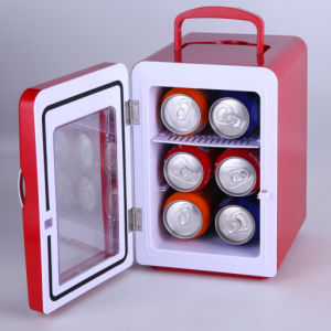 Electronic Mini Fridge 4liter DC12V, AC100-240 with Cooling and Warming for Car, Boat, Office or Home Use pictures & photos