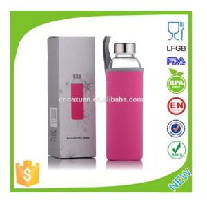 2015 Custom Narrow Mouth Glass Water Bottles for Sale pictures & photos