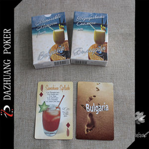 Bulgaria Souvenir Playing Cards on Foods and Drinks pictures & photos